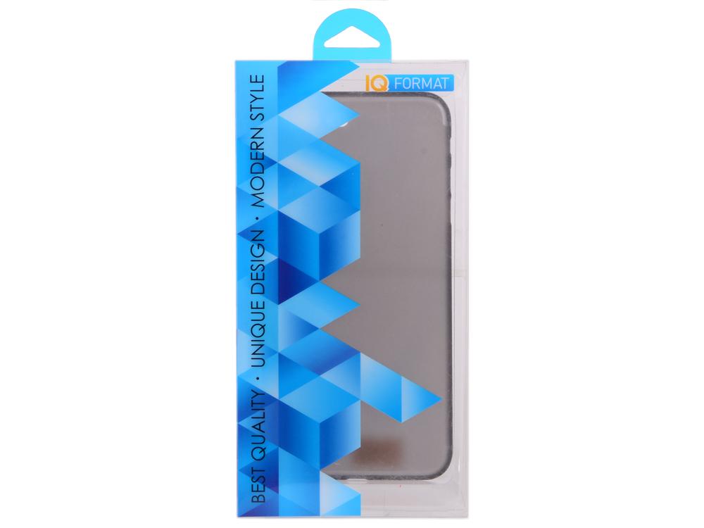 Крышка задняя для iPhone 7 Plus slim черная iq format чехол крышка iq format slim для apple iphone 7 plus 8 plus пластик голубой