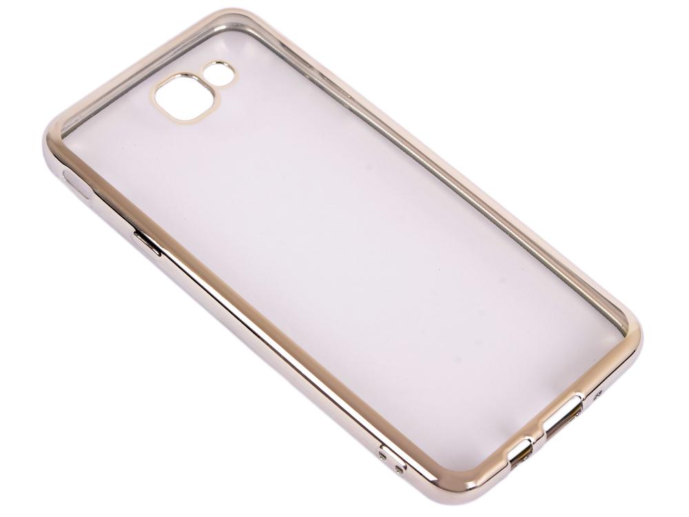 Силиконовый чехол с рамкой для Samsung Galaxy J5 Prime/ On5 (2016) DF sCase-37 (silver) стоимость