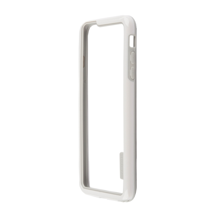 Бампер для iPhone 6/6s Plus HOCO Coupe Series Double Color Bracket Bumper Case (белый) R0007620 цена