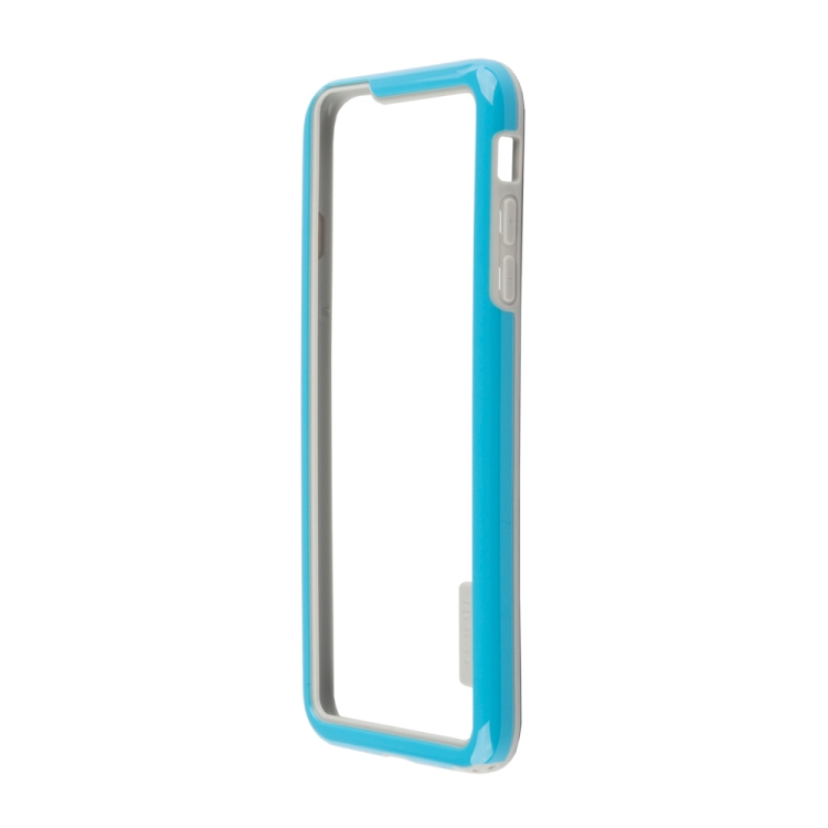 Бампер для iPhone 6/6s Plus HOCO Coupe Series Double Color Bracket Bumper Case (синий) R0007622 цена