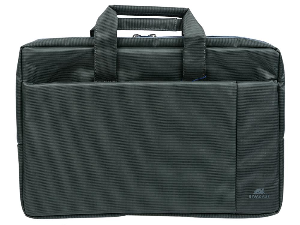 Сумка для ноутбука 17.3 Riva 8251 полиэстер серый philip watch 8251 850 077