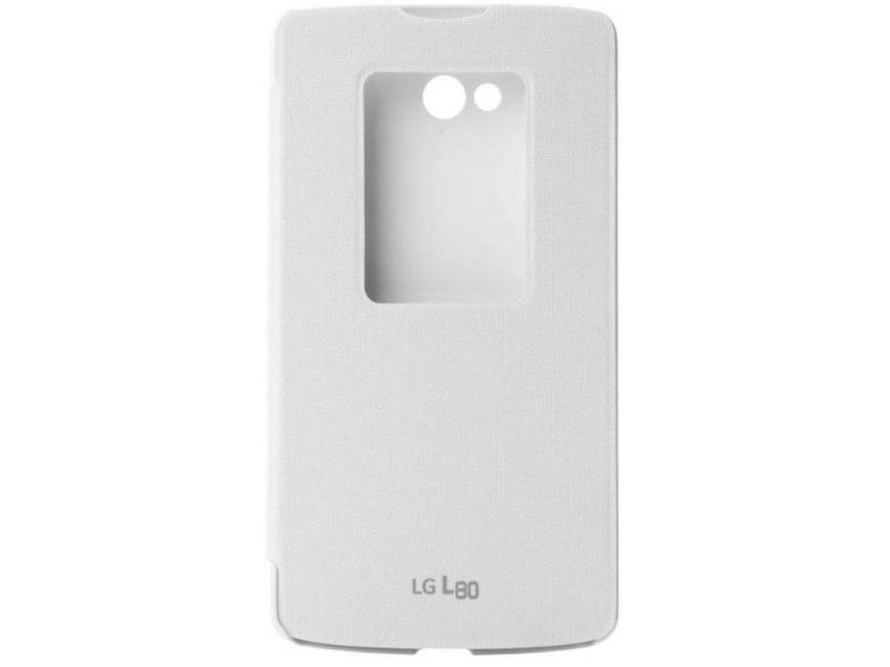 Чехол LG CCF-510.AGRAWH для LG L80 белый lg 150d fiber optic illuminator