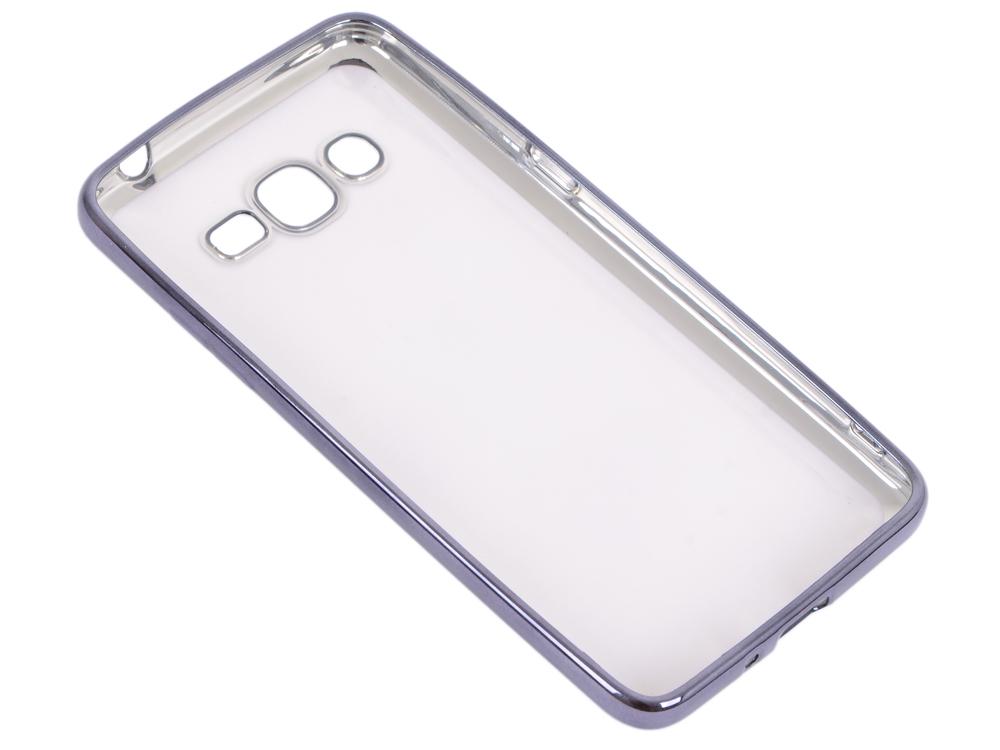 Силиконовый чехол с рамкой для Samsung Galaxy J2 Prime/Grand Prime (2016) DF sCase-36 (black) защитное стекло df scolor 11 для samsung galaxy j2 prime grand prime 2016 с рамкой черный