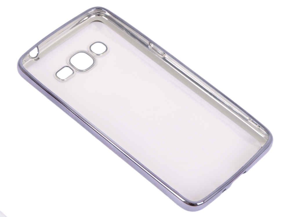Силиконовый чехол с рамкой для Samsung Galaxy J2 Prime/Grand Prime (2016) DF sCase-36 (space gray) защитное стекло df scolor 11 для samsung galaxy j2 prime grand prime 2016 с рамкой черный