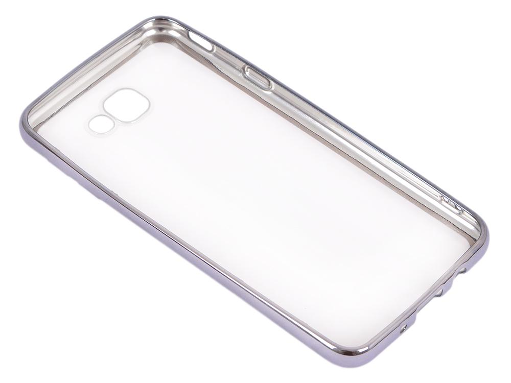 Силиконовый чехол с рамкой для Samsung Galaxy J5 Prime/ On5 (2016) DF sCase-37 (space gray) чехол силиконовый df scase 47 для samsung galaxy j5 2017