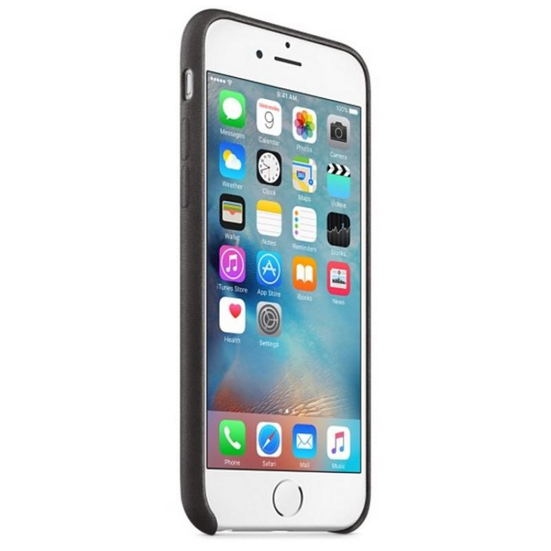 Накладка Apple MKXW2ZM/A для iPhone 6S iPhone 6 чёрный цены