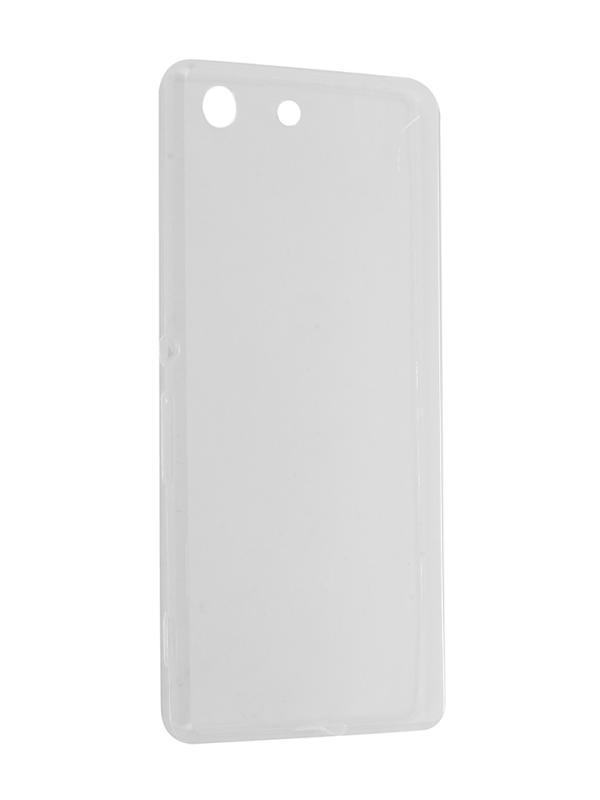 Силиконовый чехол для Sony Xperia M5 DF xCase-05 аксессуар чехол activ for sony xperia z4 hicase силиконовый gold 48133