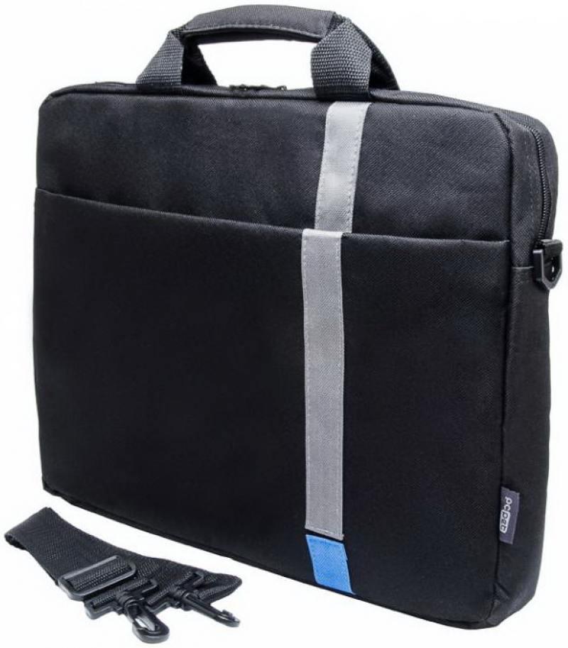 """Сумка для ноутбука 15.6"""" PC Pet Classic Toplader PCP-1001BL полиэстер черный"""