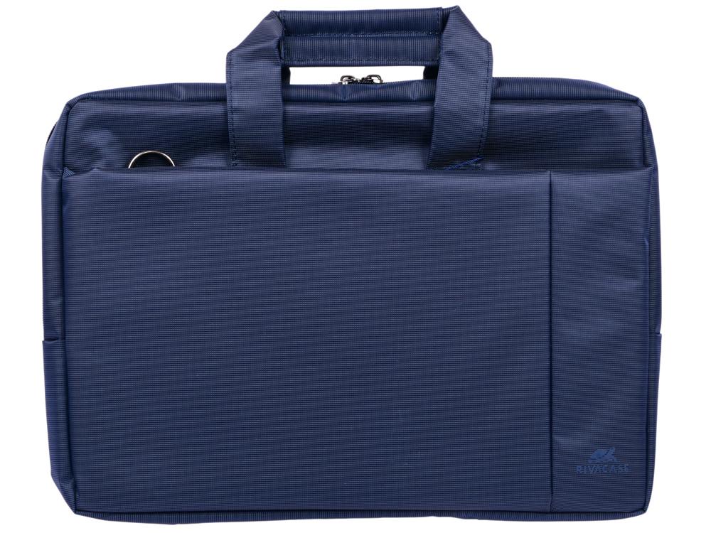 Сумка для ноутбука 15 Riva 8231 полиэстер синий riva 9101 ultraviolet