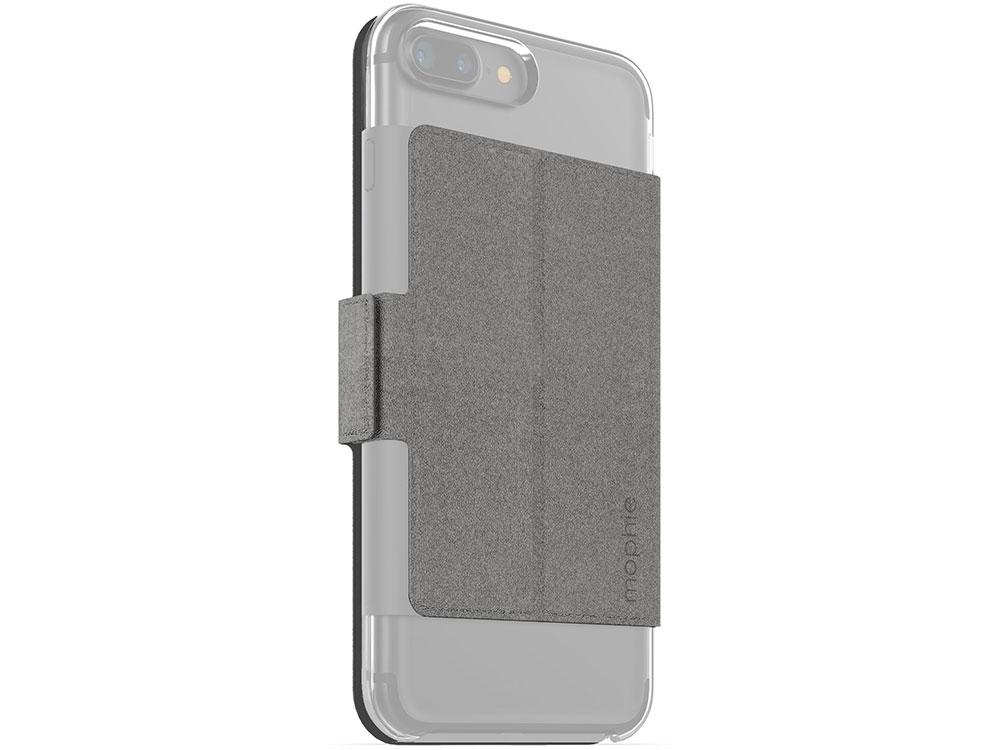 Накладка Mophie Hold Force Folio для чехла Mophie Base Case для iPhone 7 Plus Серый, Искусственная кожа / Пластик цены