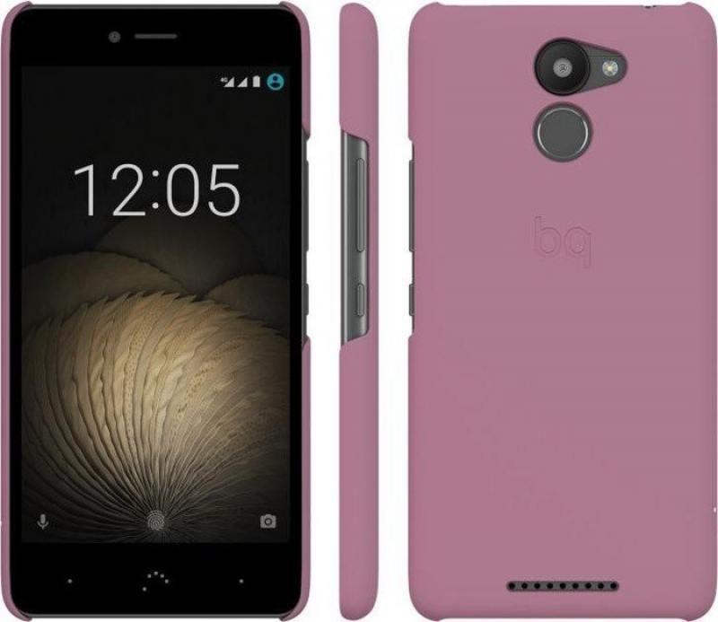 Чехол BQ для BQ Aquaris U Plus розовый E000707 bq aquaris x5 android version 16gb