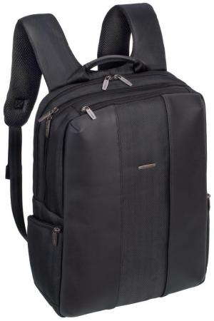 """Рюкзак для ноутбука 15.6"""" Riva 8165 полиуретан полиэстер черный"""
