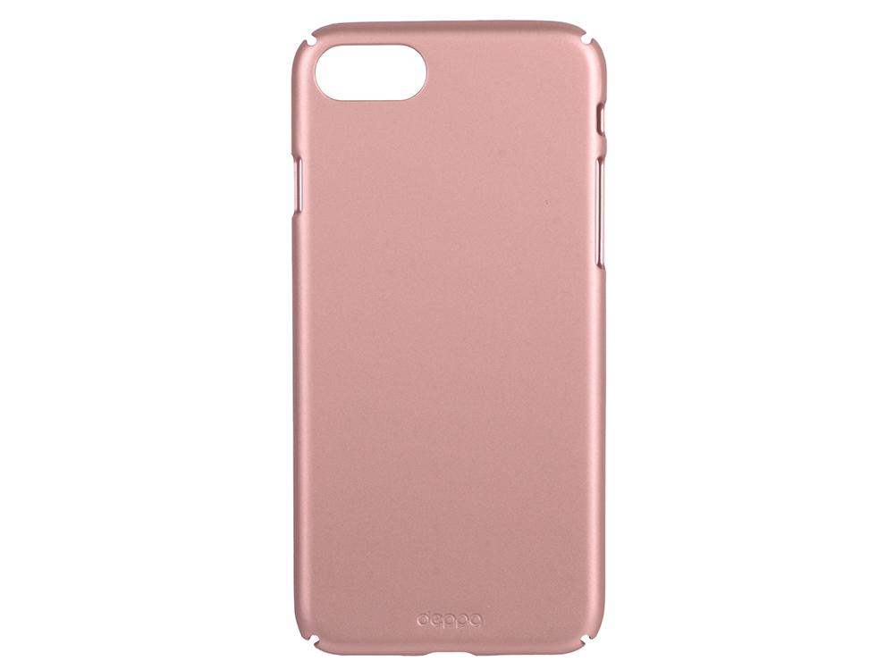 Чехол-накладка для Apple iPhone 7 Deppa 83271 Air Case Pink Gold клип-кейс, пластик elonbo flowers mosaic plastic back case for iphone 6 4 7 deep pink pink multi color