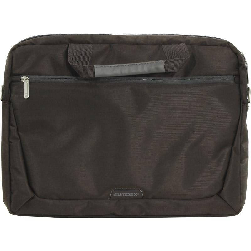 Сумка для ноутбука 15.6 Sumdex PON-111BR нейлон коричневый сумка для ноутбука 15 sumdex pon 351bu синий