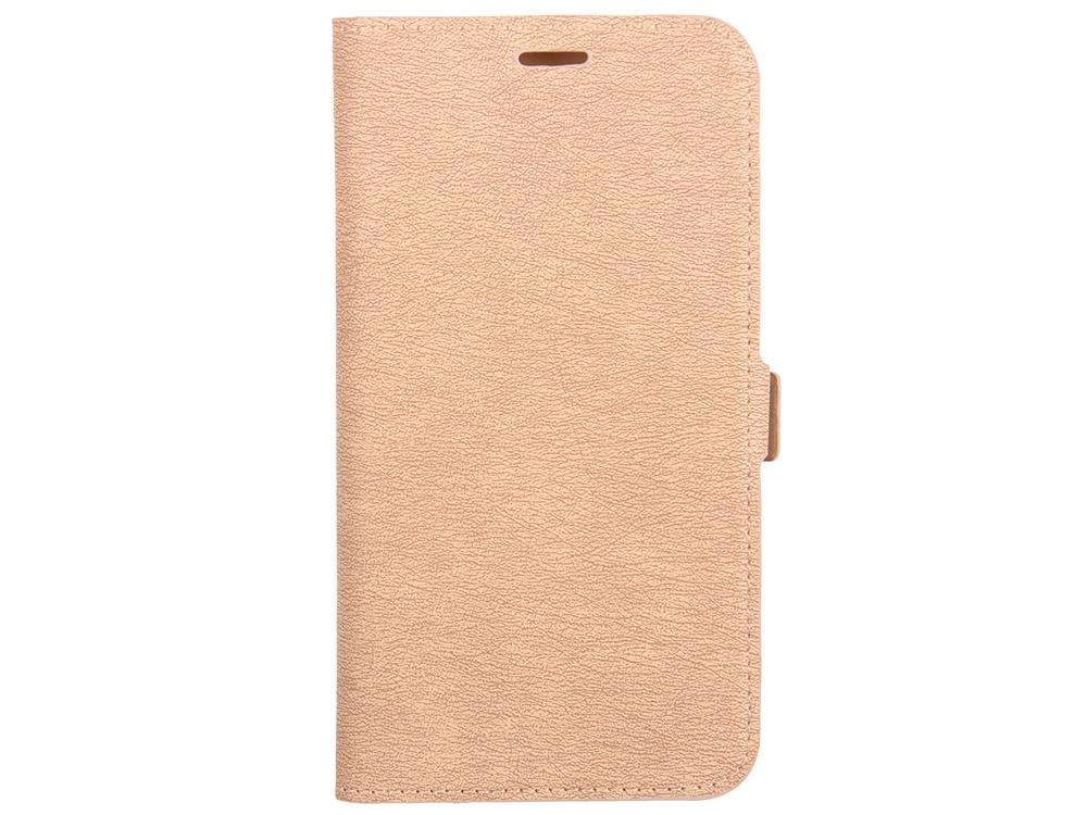 Чехол-книжка для Samsung Galaxy J5 (2017) DF sFlip-19 Gold флип, искусственная кожа, пластик фото