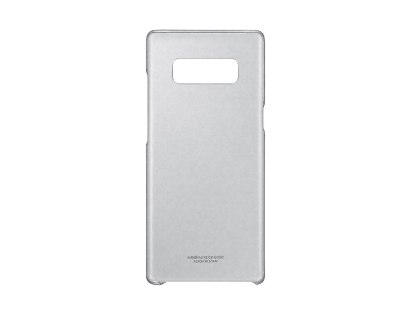 Чехол-накладка для Samsung Galaxy Note 8 Samsung Clear Cover Great EF-QN950CBEGRU Black флип, поликарбонат чехол накладка samsung slim cover для samsung galaxy a710f поликарбонат сlear прозрачный ef aa710ctegru