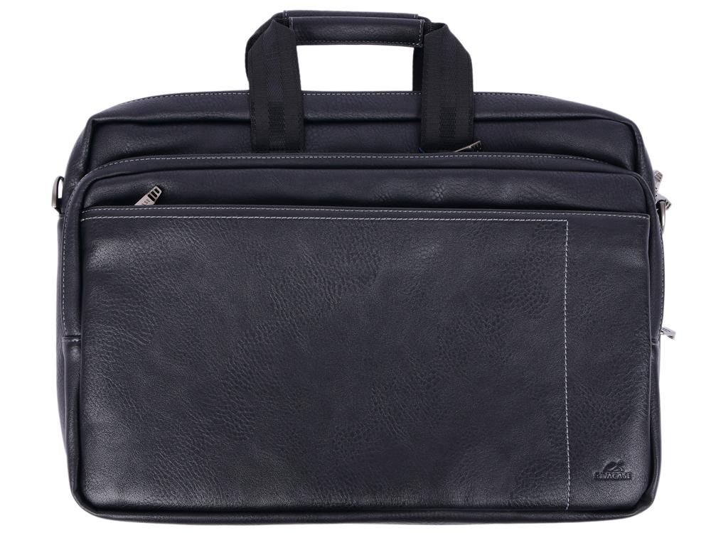 Сумка для ноутбука 16 Riva 8940 PU искусственная кожа черный сумки magnolia сумка женская a761 7363 лак искусственная кожа page 8