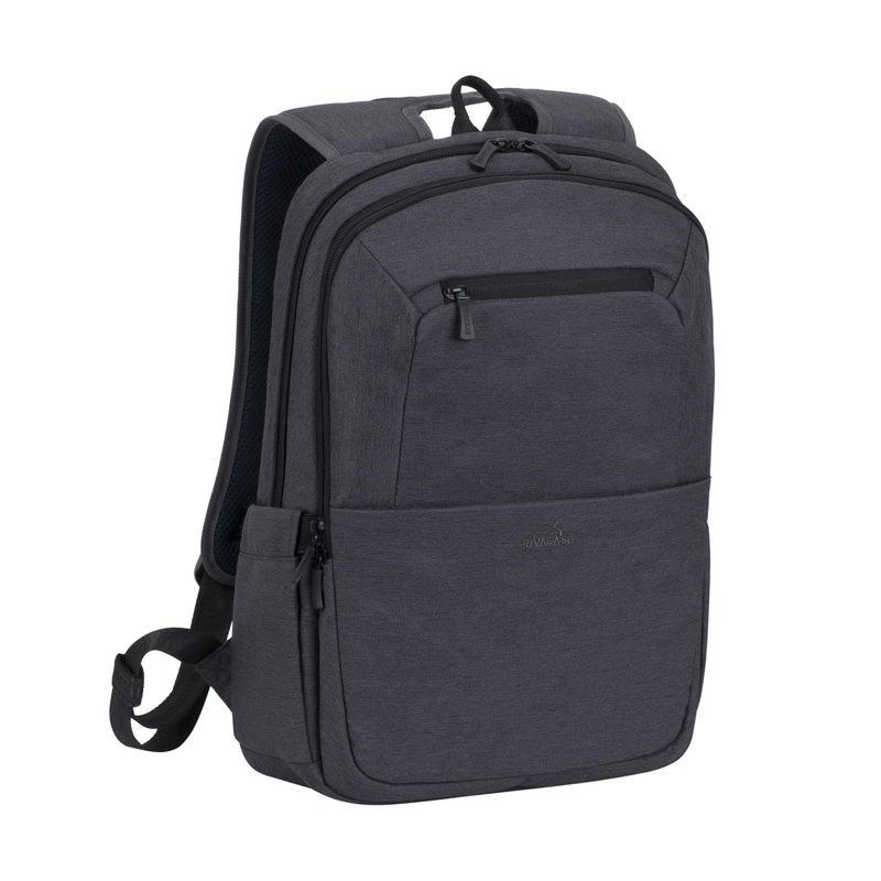 Рюкзак для ноутбука 15.6 Riva 7760 полиэстер черный riva