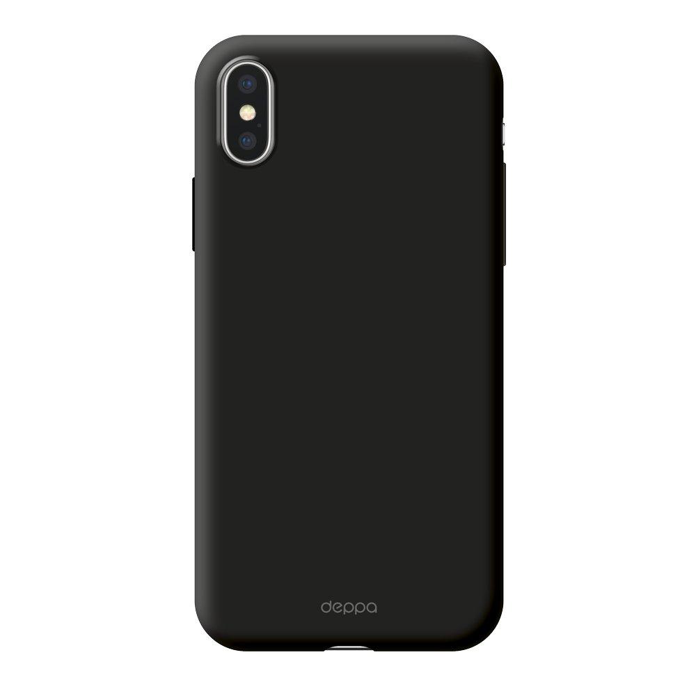 Чехол Deppa Air Case для Apple iPhone X/XS, черный чехол deppa air case для apple iphone x xs розовое золото