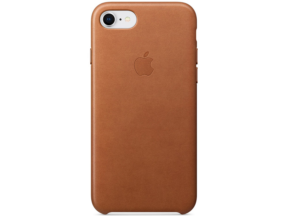 Накладка Apple Leather Case для iPhone 8 iPhone 7 коричневый MQH72ZM/A apple iphone 7 32gb silver