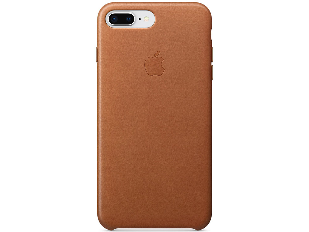 Чехол-накладка для iPhone 7 Plus/8 Plus Apple Leather Case Brown клип-кейс, кожа