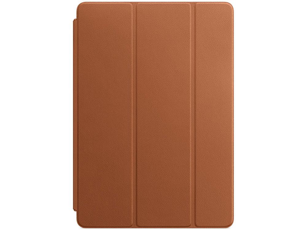 Чехол-книжка для iPad Pro 10.5 Apple Smart Cover Brown флип, кожа чехол подставка apple leather smart cover для apple ipad pro 10 5 кожаный красный