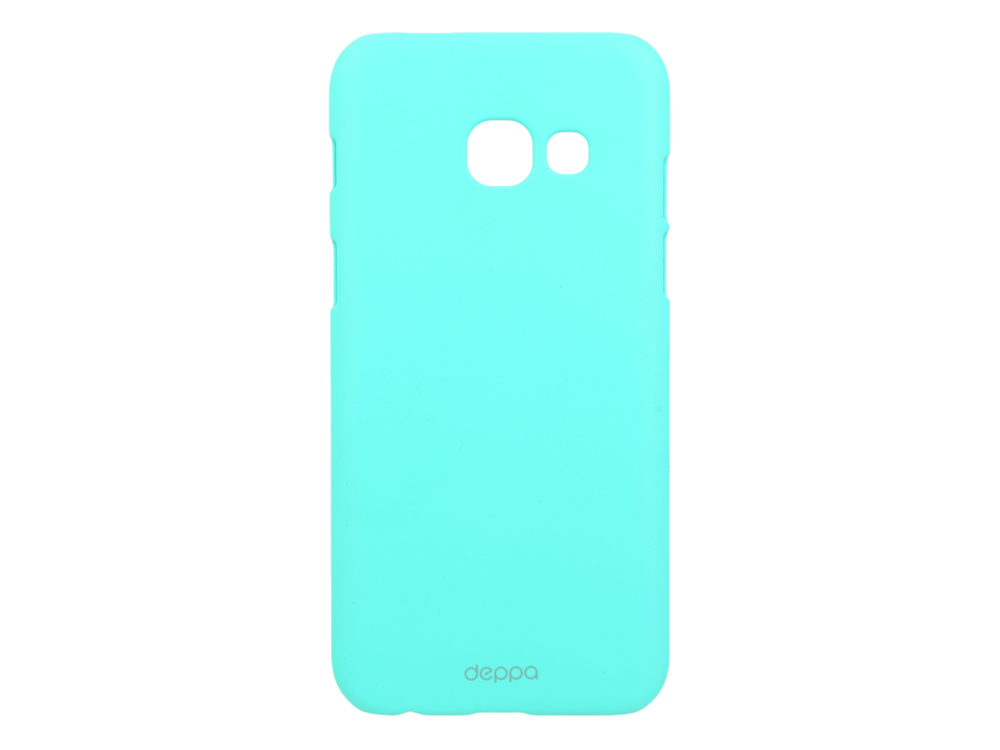 Чехол-накладка для Samsung Galaxy A3 2017 Deppa Air Case 83283 Mint клип-кейс, поликарбонат