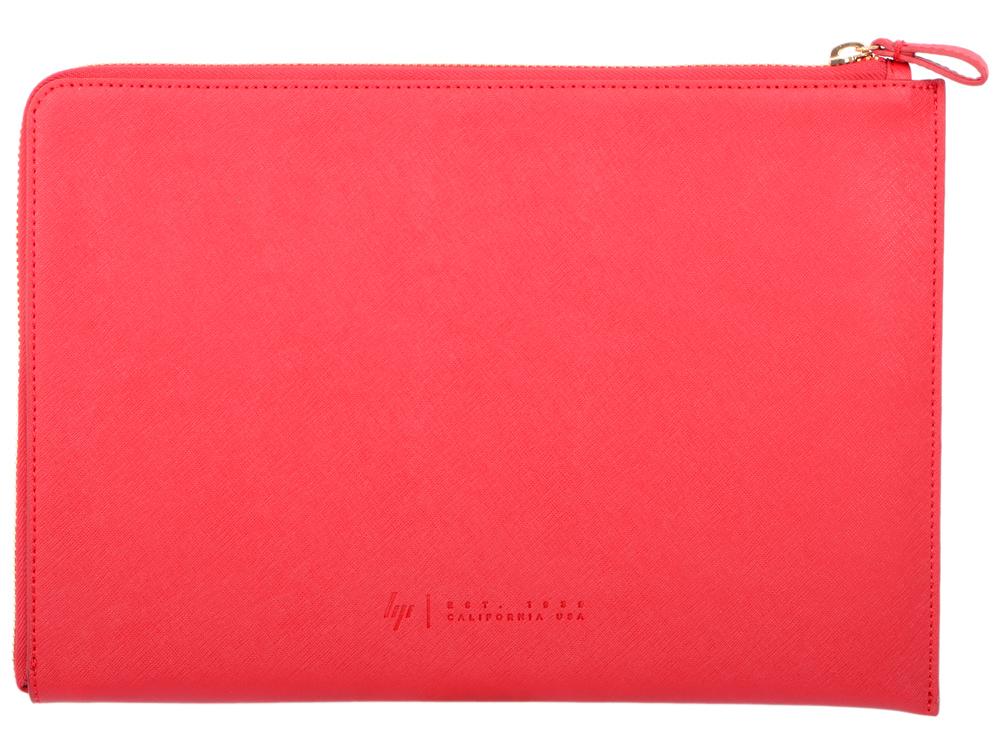 Сумка для ноутбука 13.3 HP Spectre Red L-Zip Sleeve (2HW35AA#ABB) комплект термобелья мужской huntsman zip брюки кофта цвет черный h 100 zip 901 размер l 48 50