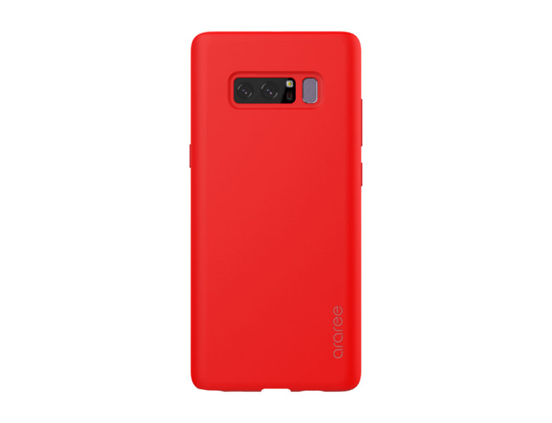 Чехол-накладка для Samsung Galaxy Note 8 araree Airfit Red клип-кейс, полиуретан printio чехол для samsung galaxy note