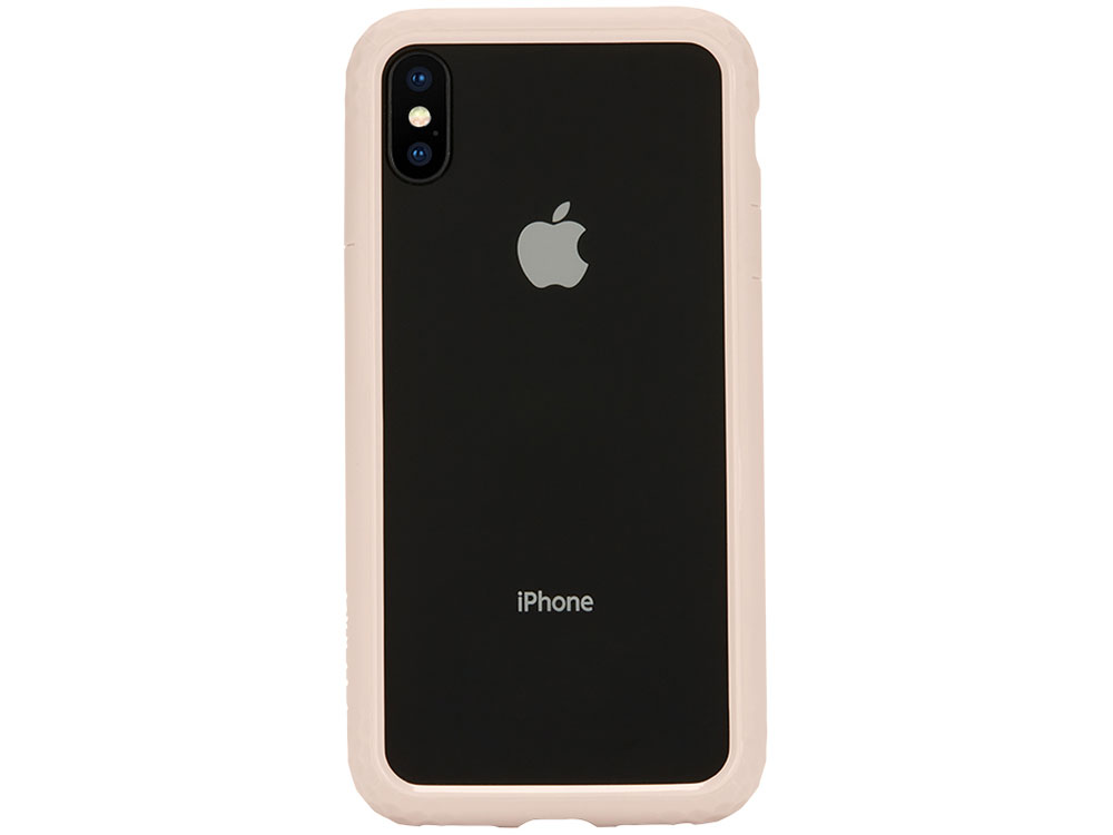 цена Бампер для Apple iPhone X Incase Frame Case Rose Gold Пластик онлайн в 2017 году