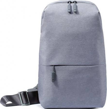 Рюкзак для планшета 7 Xiaomi Mi City Sling Bag полиэстер серый рюкзак для планшета 8 3 xiaomi mi city sling bag полиэстер серый micityslingbag lightgray dsxb01rm