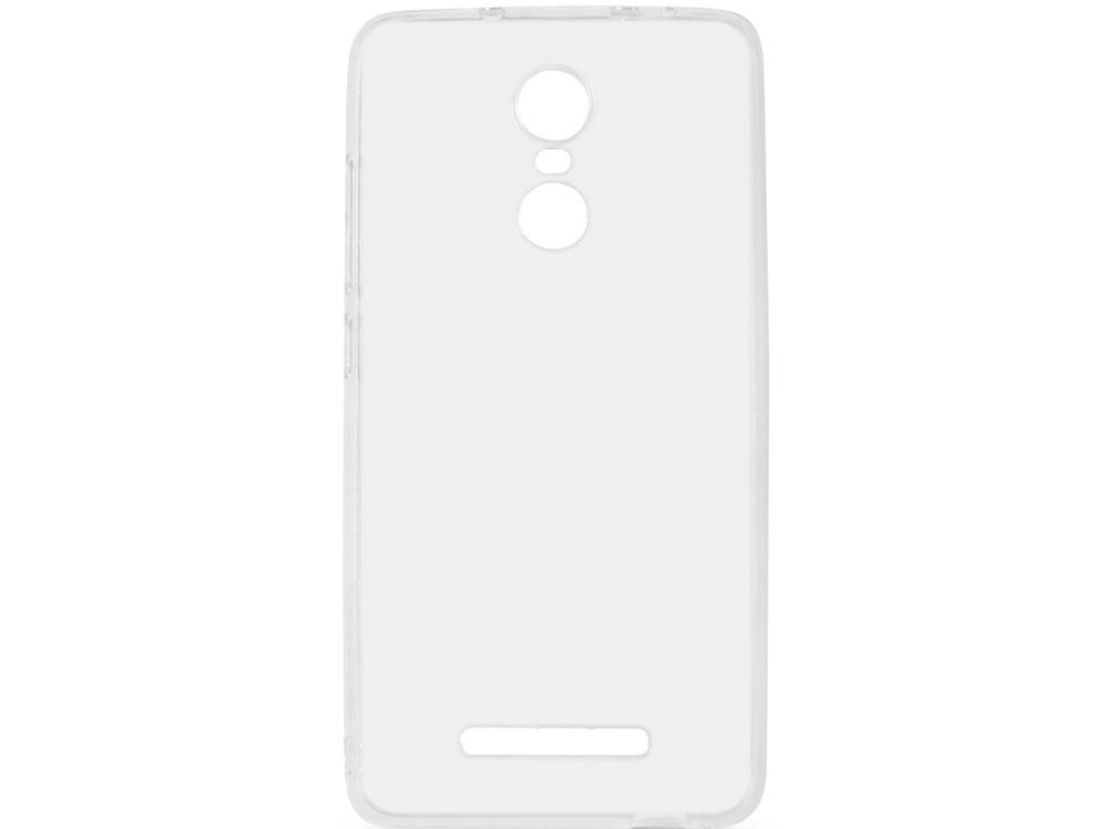 Чехол-накладка для Xiaomi Mi Note 3 DF xiCase-21 клип-кейс, прозрачный силикон