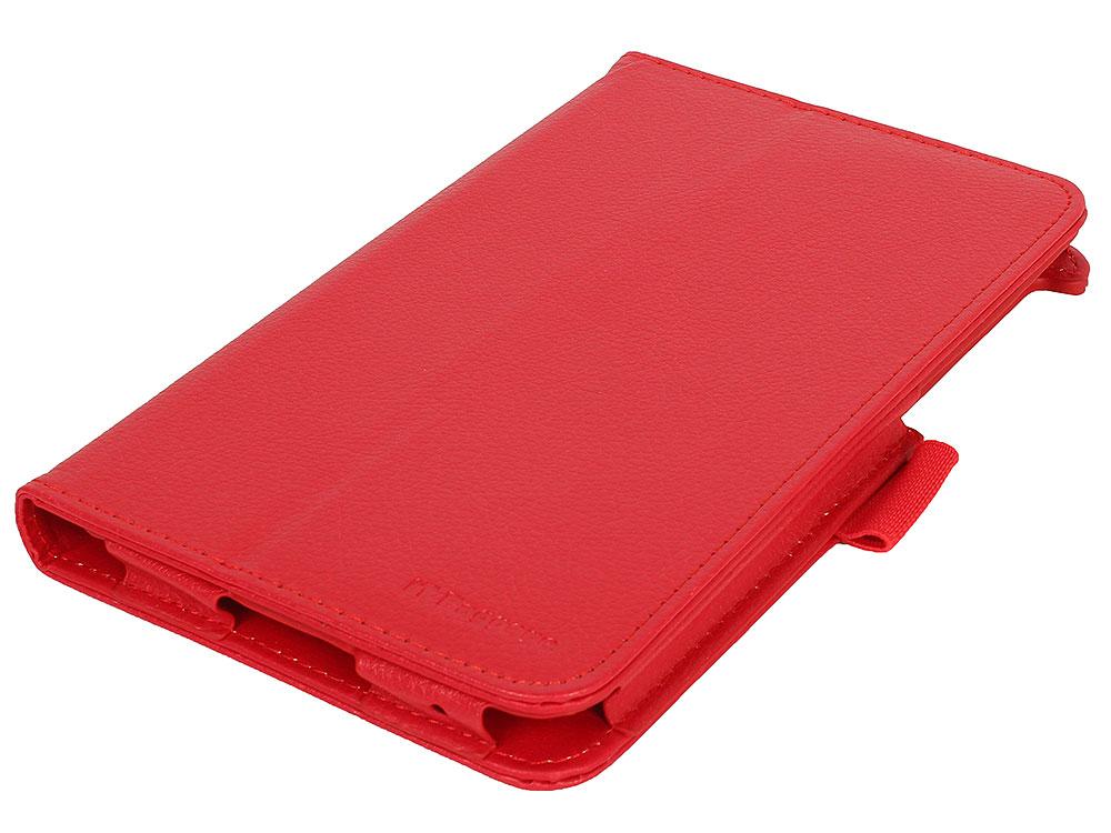 Чехол-книжка для LENOVO TB3 Essential 7 710i/710F IT BAGGAGE ITLN710-3 Red флип, искусственная кожа аксессуар чехол 7 0 it baggage универсальный red ituni79 3