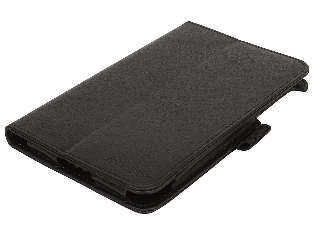 Чехол-книжка для LENOVO TB3 Essential 710i/710F IT BAGGAGE ITLN710-1 Black флип, искусственная кожа фото