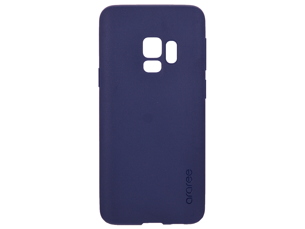 Чехол-накладка для Samsung Galaxy S9 Samsung KDLAB Inc Airfit Blue клип-кейс, полиуретан цена и фото