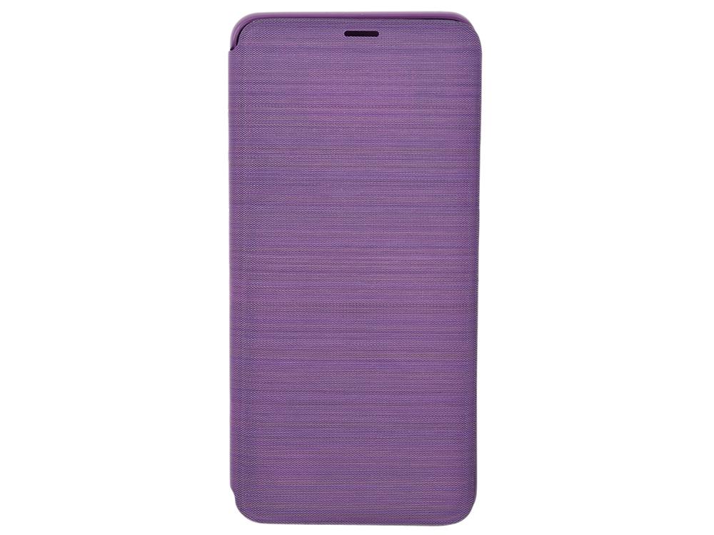 Чехол-книжка для Samsung Galaxy S9+ Samsung LED View Cover Grey флип, полиуретан, поликарбонат цена и фото