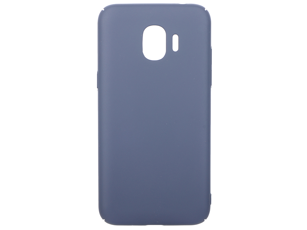 Чехол-накладка для Samsung Galaxy J2 (2018)/J2 Pro (2018) DF sSlim-34 Blue чехол soft touch для samsung galaxy j2 2018 j2 pro 2018 df sslim 34 pink sand