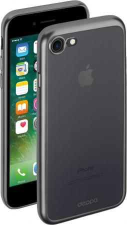 Накладка Deppa Gel Plus Case для iPhone 7 iPhone 8 графит матовый 85283 iphone 7