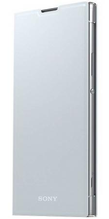 Чехол SONY SCSH10 для Xperia SM12 серебристый