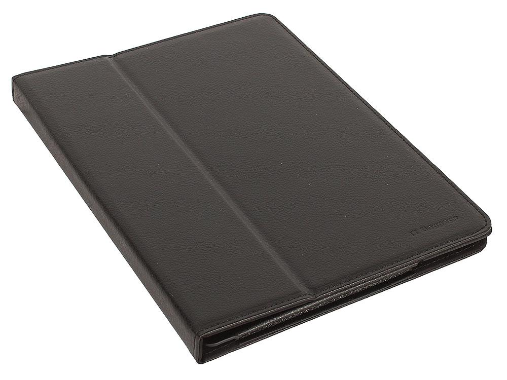 Чехол-книжка для планшета LENOVO Tab 4 10 TB-X704L IT BAGGAGE Plus Black флип, искусственная кожа чехол it baggage для планшета lenovo tab 3 plus tb 7703x прозрачный itlnph77 0
