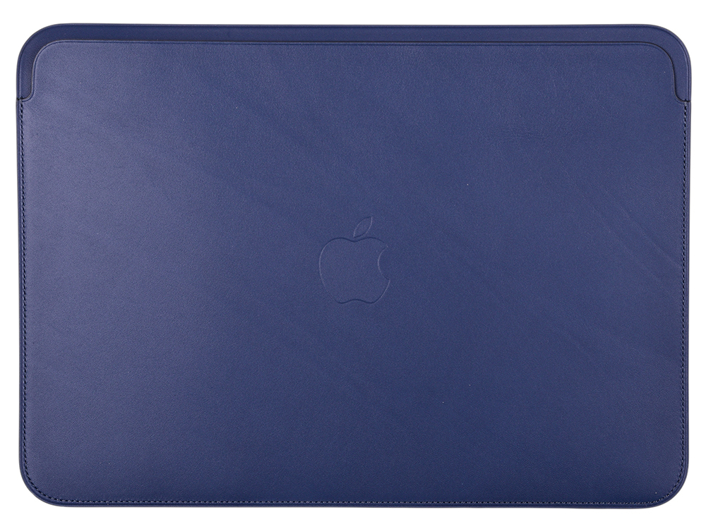 Фото - Чехол для ноутбука 12 Apple Leather Sleeve кожа синий MQG02ZM/A аккумулятор для ноутбука ibatt apple a1395 ib a405