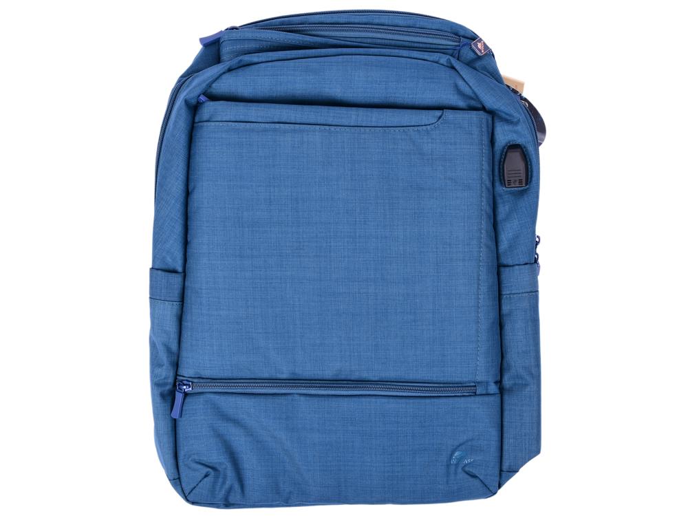 Рюкзак для ноутбука 17.3 Riva 8365 полиэстер синий riva riva 8221