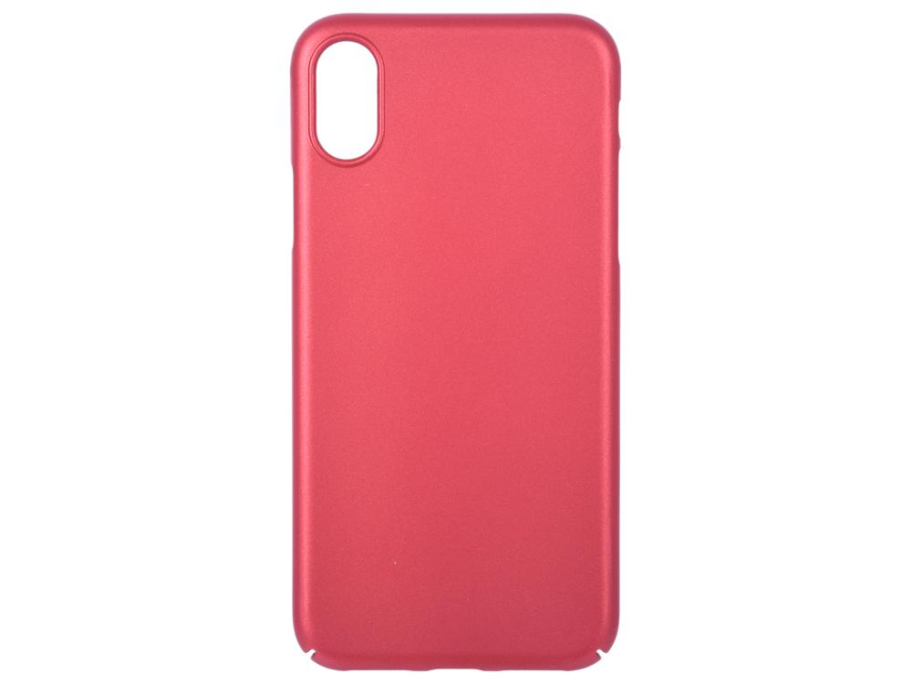 Чехол Deppa Air Case для Apple iPhone X/XS, красный цена