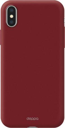 Чехол Deppa Air Case для Apple iPhone X/XS, красный чехол deppa чехол air case для xiaomi mi6 черный deppa