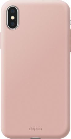 Чехол Deppa Air Case для Apple iPhone X/XS, розовое золото чехол deppa air case для apple iphone x xs розовое золото