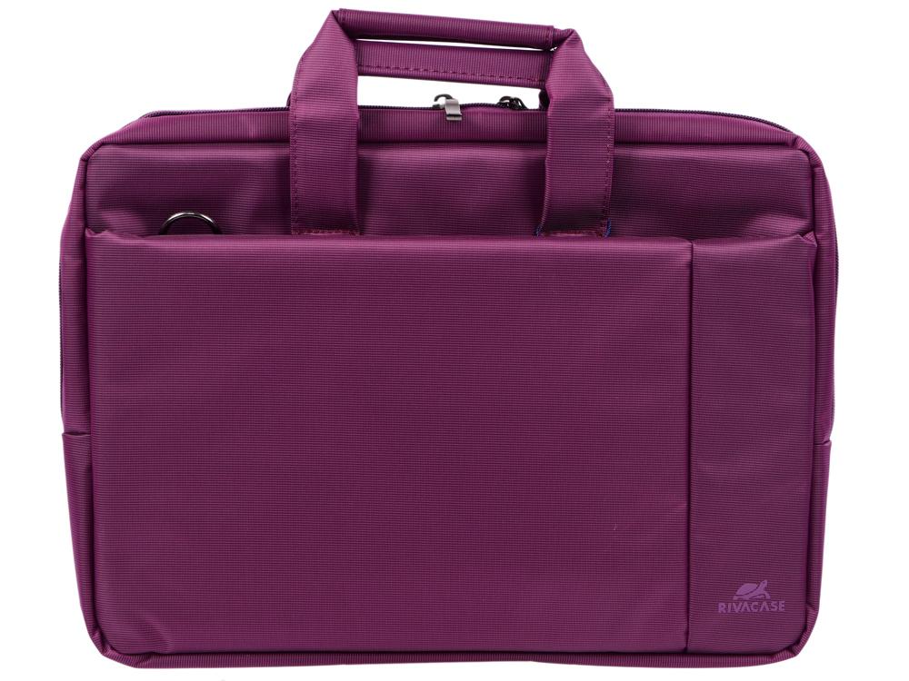 Сумка для ноутбука 15 Riva 8231 полиэстер пурпурный riva