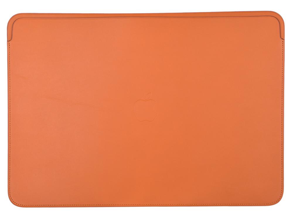 цена на Чехол Apple Leather Sleeve для MacBook Pro Retina 15 золотисто-коричневый MRQV2ZM/A