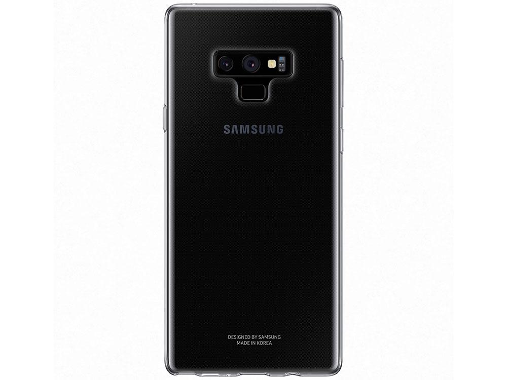 Чехол (клип-кейс) Samsung для Samsung Galaxy Note 9 Clear Cover прозрачный (EF-QN960TTEGRU) цена