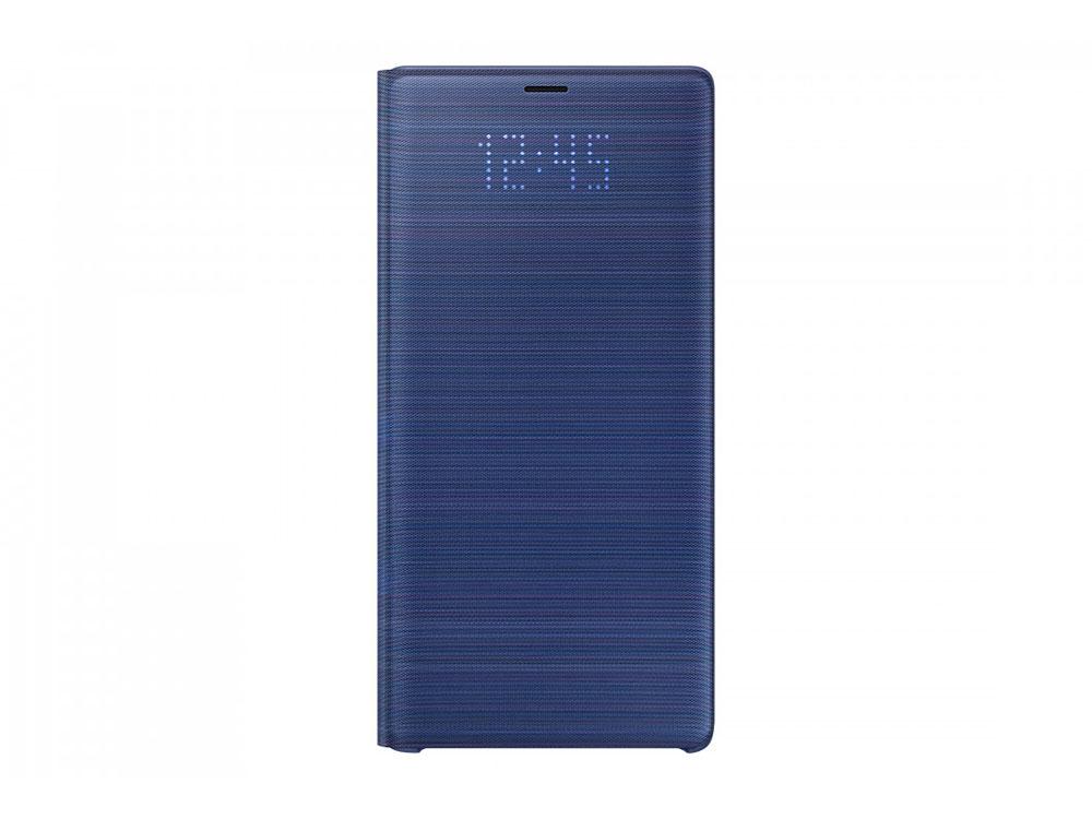 Чехол (флип-кейс) Samsung для Samsung Galaxy Note 9 LED View Cover синий (EF-NN960PLEGRU) стоимость