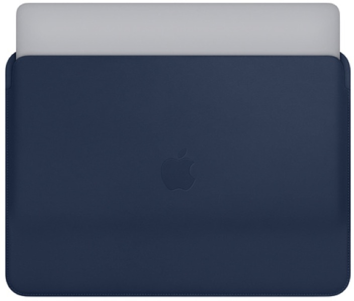 Leather Sleeve for 15-inch MacBook Pro – Midnight Blue MRQU2ZM/A ремешок apple 38mm midnight blue classic buckle mpwd2zm a